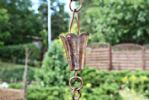 Copper Rain Chain 'Yuri'